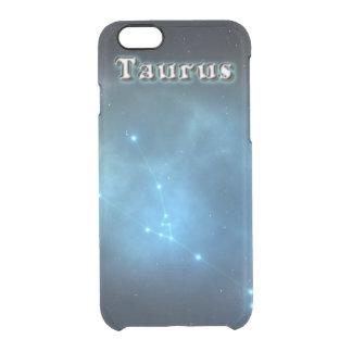 Constelación del tauro funda transparente para iPhone 6/6s