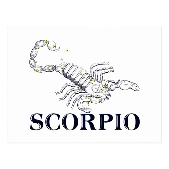 Constelación: Escorpión Postal