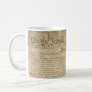 Constitución de Estados Unidos Taza De Café