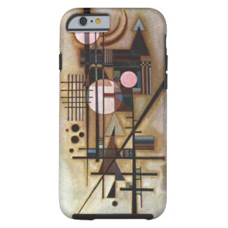 Construcción ablandada Kandinsky de Wassily Funda De iPhone 6 Tough