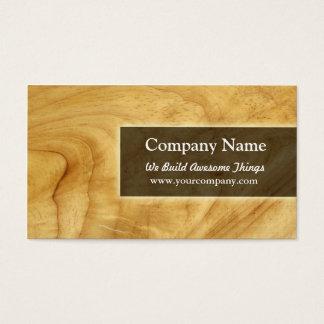construcción/carpintería tarjeta de negocios