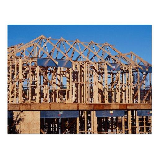 Construcción de la casa, Nueva Zelanda Tarjetas Postales