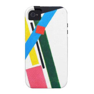Construcción de Suprematistic de Kazimir Malevich iPhone 4 Fundas