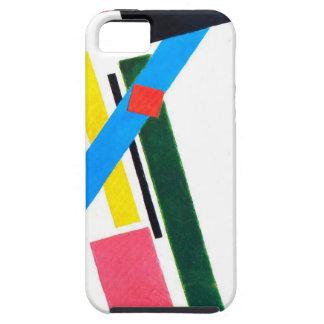 Construcción de Suprematistic de Kazimir Malevich iPhone 5 Case-Mate Carcasas