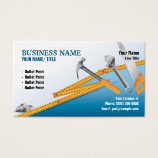 Construcción o tarjeta de visita práctica del