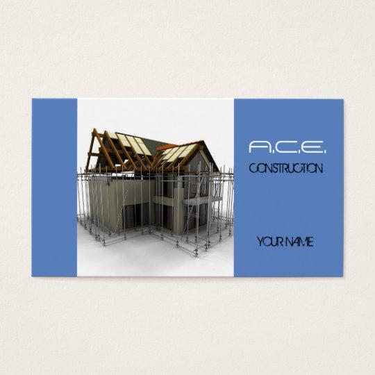 Constructores/tarjeta de visita de construcción tarjeta de negocios