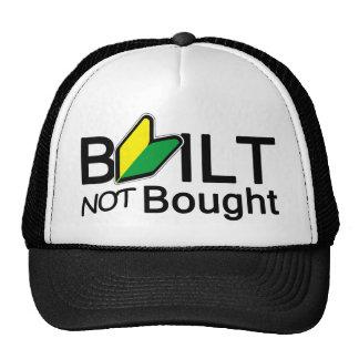 Construido, no comprado gorras