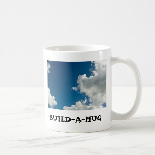 Construya las tazas de una foto o las tazas de té