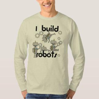 Construyo los robots camiseta