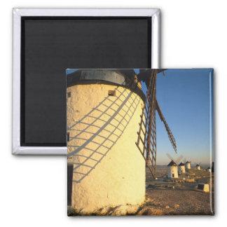 Consuegra, La Mancha, España, molinoes de viento y Imán Cuadrado