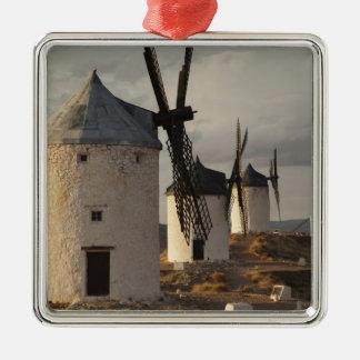 Consuegra, molinoes de viento antiguos 6 de Mancha Ornamento Para Arbol De Navidad