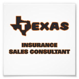 Consultor de las ventas del seguro de Tejas Arte Fotográfico