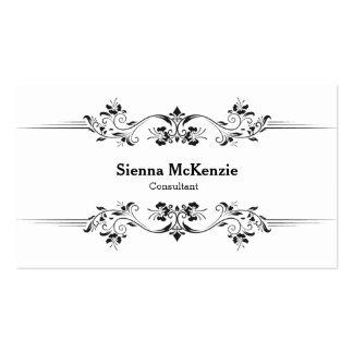 Consultor decorativo tarjeta personal