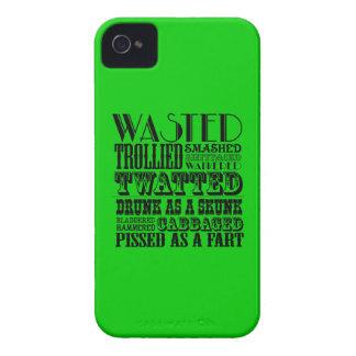 Consumición divertida Case-Mate iPhone 4 protectores