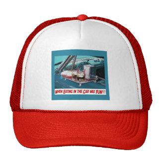 Consumición en el casquillo del coche gorras