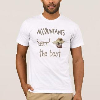 Contable del pirata camiseta