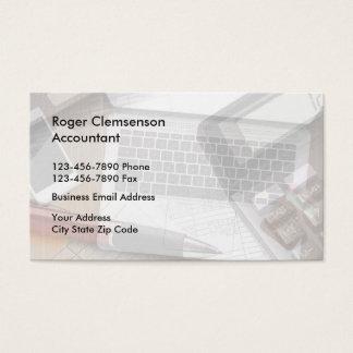 Contable único Businesscards Tarjeta De Negocios