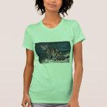 Contacto nublado del Leopardo-ojo Camisetas