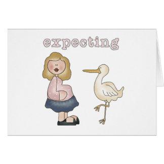 Contando con al bebé - camisetas y regalos de la c tarjeta de felicitación