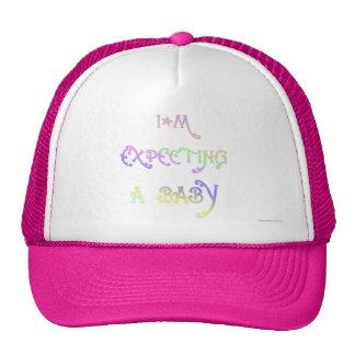 Contar con a un bebé gorras de camionero