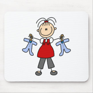 Contar con la figura Mousepad del palillo del bebé