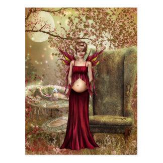 Contar con maternidad tarjetas postales