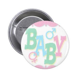 Contar con un botón del bebé pin