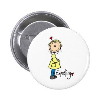 Contar con un botón del bebé pins