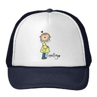 Contar con un gorra del bebé