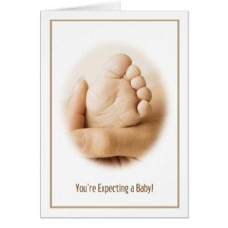Contar con una tarjeta del bebé