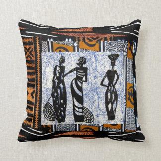 Contemporáneo: Diseño africano del estilo Cojines