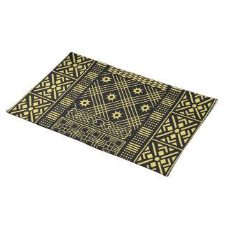 Contemporáneo: Diseño africano del estilo Mantel
