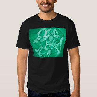 Contemporáneo moderno del arte abstracto de la camiseta