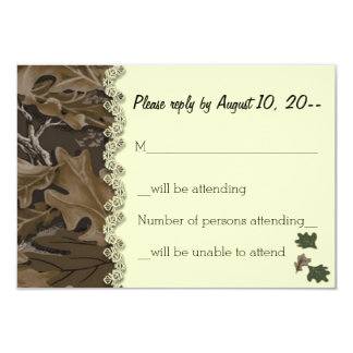 Contestación del camuflaje de Camo/tarjetas de Invitación 8,9 X 12,7 Cm