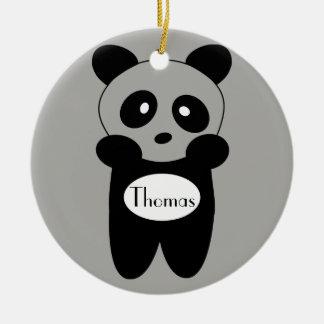 Contorno ornamento Bebé Panda