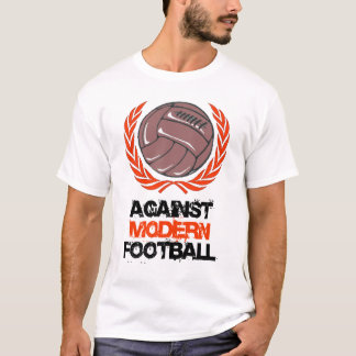 Contra la camiseta moderna del fútbol