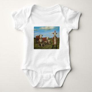 Contra la manada body para bebé