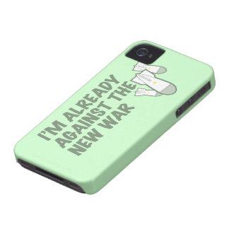 Contra la nueva guerra Case-Mate iPhone 4 funda