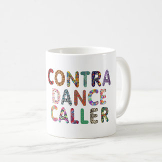 Contra la taza del visitante de la danza