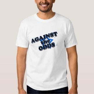 Contra las probabilidades camiseta