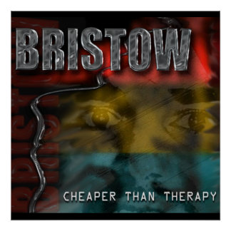 Contraportada CD de BRISTOW, más barata que el pos Póster