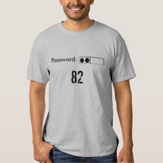Contraseña: 82 camisetas