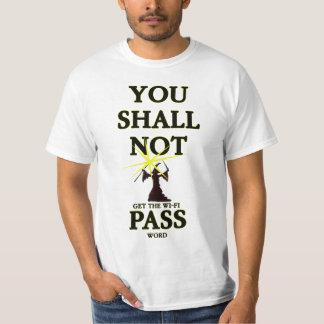 Contraseña de Wifi Camiseta