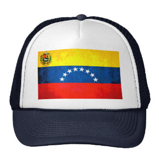 Contraste colorido VenezuelanFlag Gorras