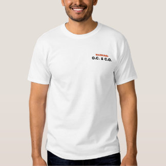 Control de Outta y cortado Camisetas