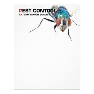Control de parásito folleto 21,6 x 28 cm