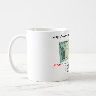 Control de reembolso taza de café