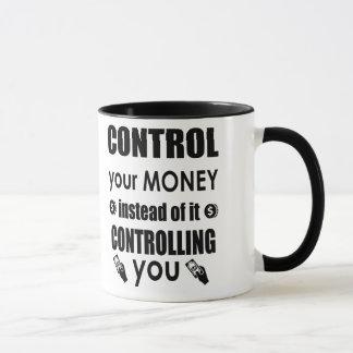 Controle su taza de café de motivación de la cita