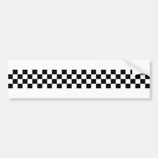 Controles de Ska del 2-Tono Pegatina Para Coche