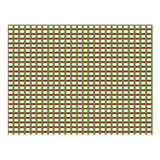 CONTROLES elegantes: El blanco verde rojo añade im Tarjetas Postales
